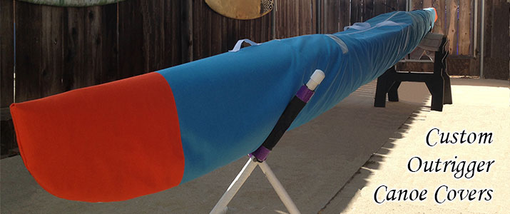 Outrigger Canoe Covers and Bags OC-1 OC-2 OC-6